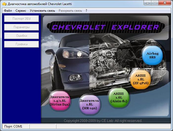 Универсальная программа для диагностики автомобилей всех марок